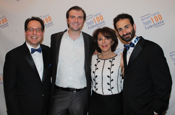 Gary John La Rosa, Chris Massimine, Andrea Martin and Erik Liberman