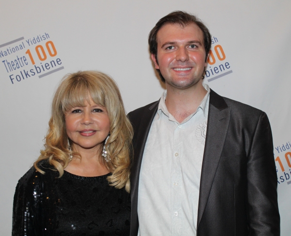 Pia Zadora and Chris Massimine