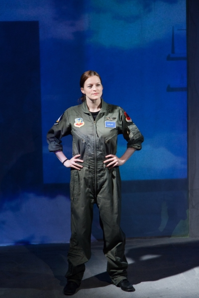 Photo Flash: First Look at Gwendolyn Whiteside in the American Blues Theater's GROUNDED