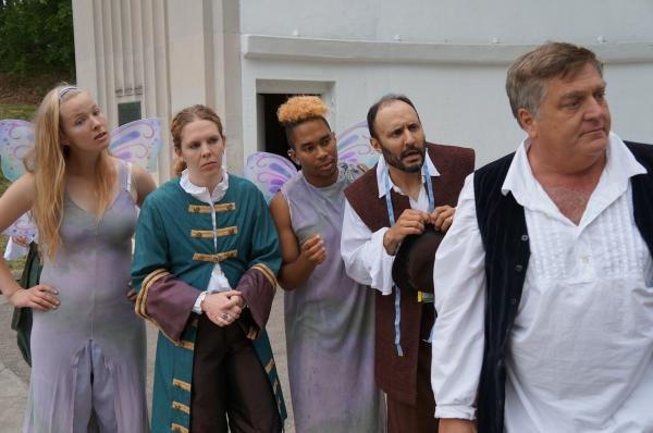 Dzugan-Smith (Snout fairy), Quay Drake (Snout), Johnnie Duartes (Robin Starvling Fairy), Jeffrey Jones (Robin Starvling), Bill Alden (Bottom)