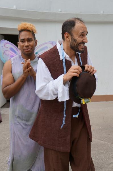 Johnnie Duartes (Robin Starvling Fairy), Jeffrey Jones (Robin Starvling)