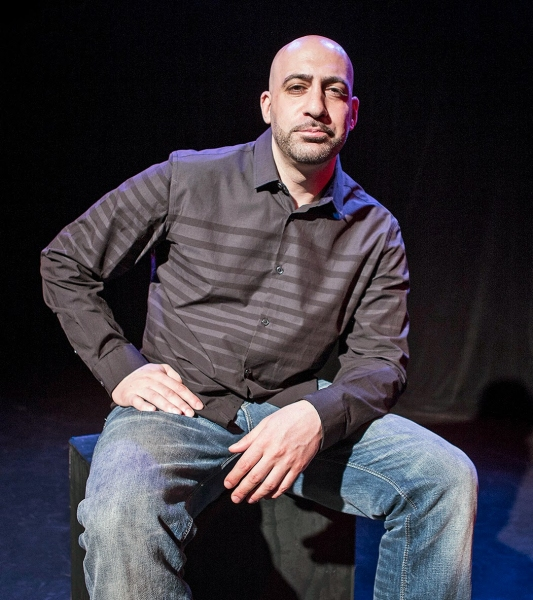Photo Flash: First Look at Joseph Assadourian in THE BULLPEN, Beginning Tomorrow at The Playroom Theater