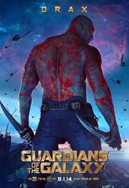 Photo Flash: Star-Lord & Drax Featured in GUARDIANS OF THE GALAXY Character Posters