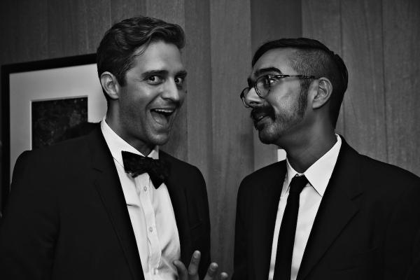 Colin Hanlon, Naveen Kumar Photo