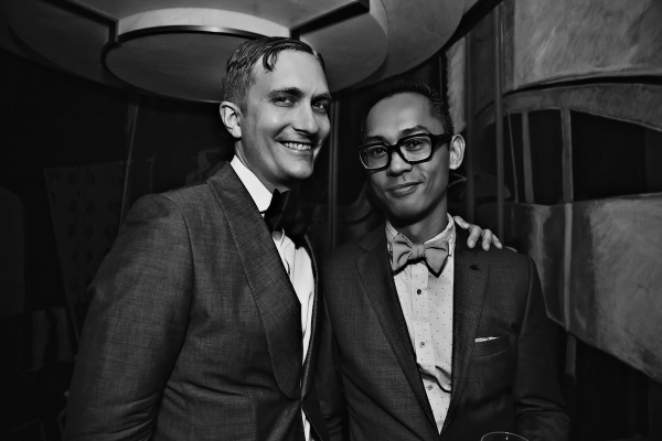 Photo Flash: Linda Cho, Darko Tresnjak, Caissie Levy, Harvey Fierstein and More at the Carlyle's Tonys Party