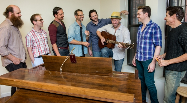 Paul Whitty, Ian Lowe, Ryan Andes, J.Robert Spencer, Michael Luberes, Joe Brent (music director), Brian Charles Rooney, Herdon Lackey