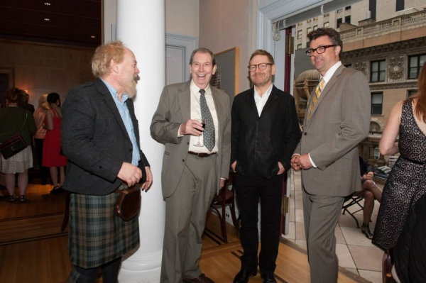 Jimmy Yuill, Richard Easton, Sir Kenneth Branagh, and Michael Sexton