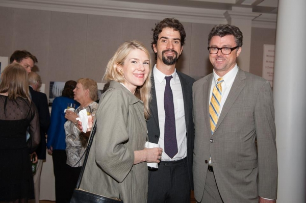 Lily Rabe, Hamish Linklater, and Michael Sexton