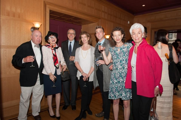 Jack O''Brien, guests, Betsy Davidson Pickering (Executive Director of The Shakespear Photo