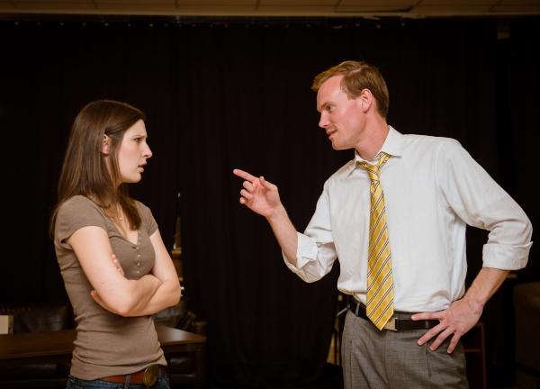 Eileen (Erin Campagnoni) and Nicholas (Cameron Bond)