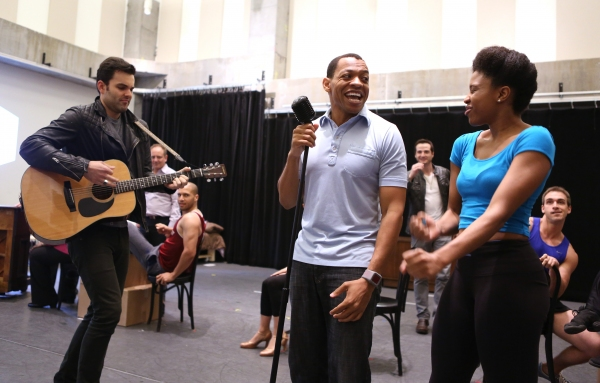 Photo Coverage: Zak Resnick, Leslie Kritzer & More Preview PIECE OF MY HEART!