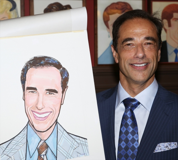 Photo Coverage: Producer Hal Luftig Unveils Sardi's Caricature!