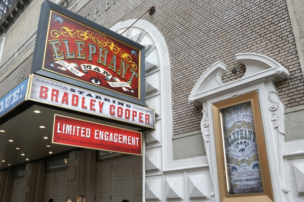 Up on the Marquee: THE ELEPHANT MAN