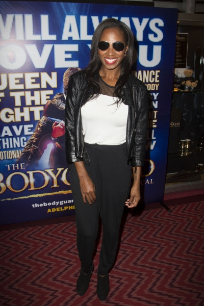 Photo Flash: Alexandra Burke Joins the Cast of West End's THE BODYGUARD