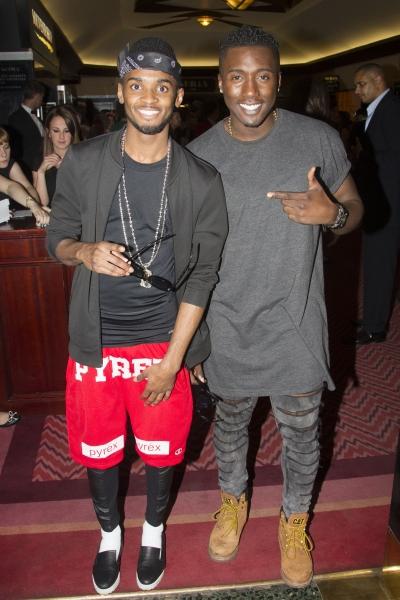 Rough Copy band members Joseph Thomas and Kazeem Ajobe