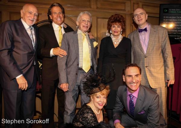 Dominic Chianese, Bill Boggs, Ervin Drake, Edith Drake, Will Friedwald, KT Sullivan,  Photo