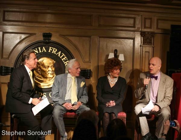 Bill Boggs, Ervin Drake,Edith Drake, Will Friedwald Photo