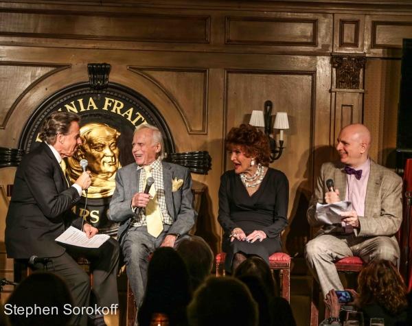 Bill Boggs, Ervin Drake, Edith Drake, Will Friedwald Photo