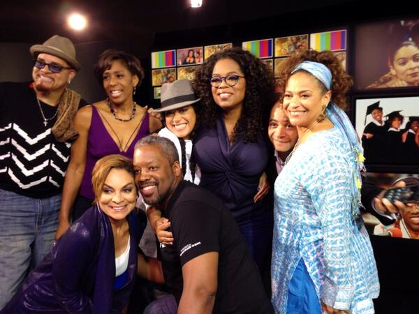 Photo Flash: Oprah Reunites Cast of A DIFFERENT WORLD
