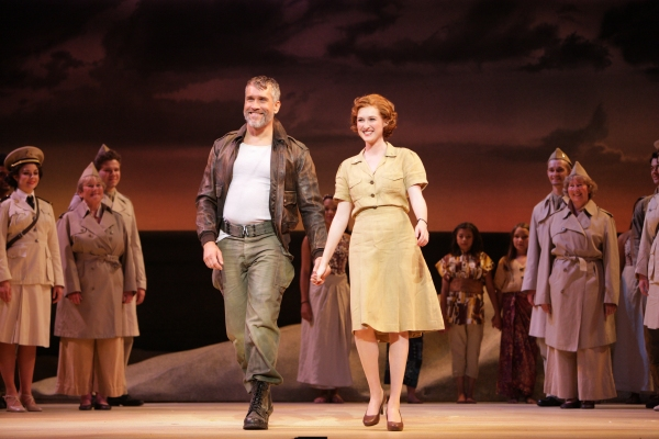 Emile de Becque (Mike McGowan) and Nellie Forbush (Erin Mackey) take their final bow
