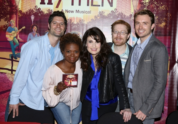 Tom Kitt, LaChanze, Idina Menzel, Anthony Rapp and James Snyder