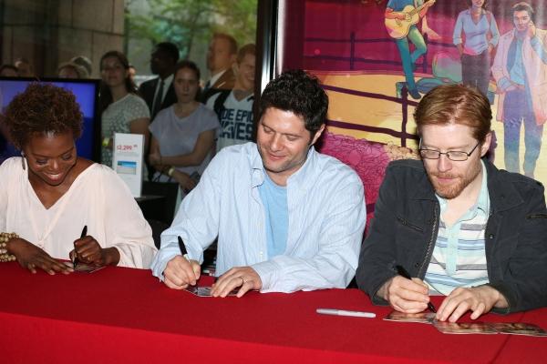 LaChanze, Tom Kitt and Anthony Rapp