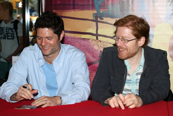 Tom Kitt and Anthony Rapp