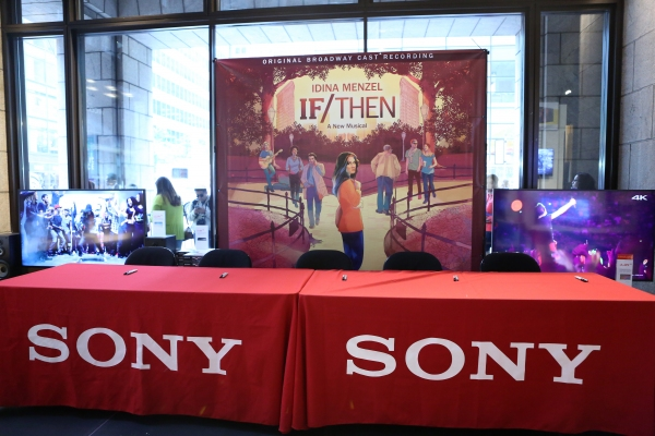 Photo Coverage: Idina Menzel, LaChanze, Anthony Rapp & More Celebrate IF/THEN Cast Album Release at Sony Store