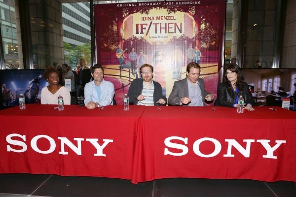 LaChanze, Tom Kitt, Anthony Rapp, James Snyder and Idina Menzel
