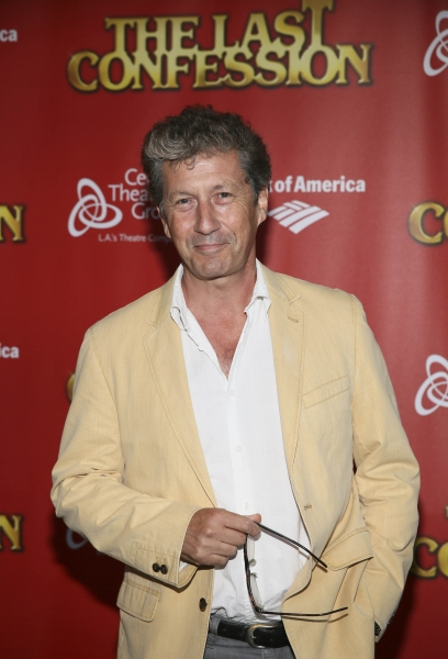 Actor Charles Shaughnessy poses during the arrivals for the opening night performance of ''The Last Confession'' at the Center Theatre Group/Ahmanson Theatre on Wednesday, June 11, 2014, in Los Angeles, Calif. (Photo by Ryan Miller/Capture Imaging)