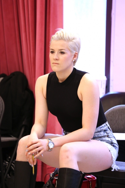 Photo Coverage: Cast of Off-Broadway's New Musical ATOMIC Meets the Press!
