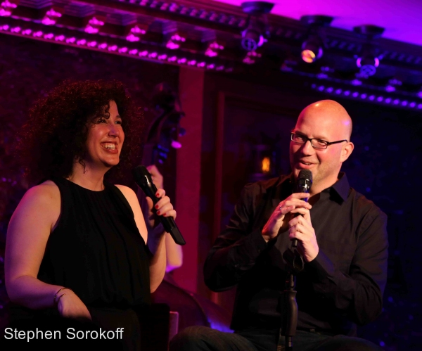 Photo Coverage: Zina Goldrich & Marcy Heisler Play 54 Below