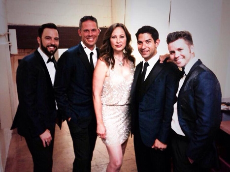 Linda Eder with The Company Men