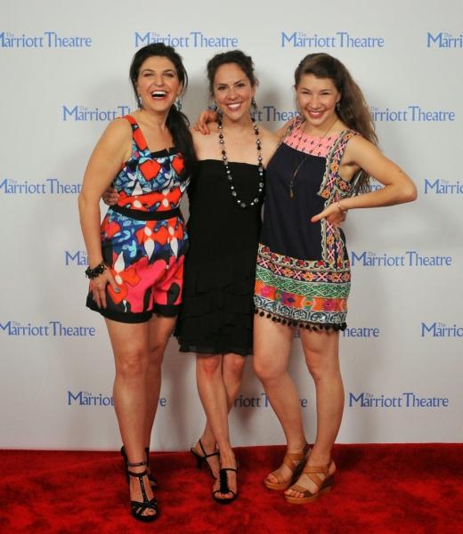 Christine Mild, Elizabeth Lanza, Lillie Cummings
