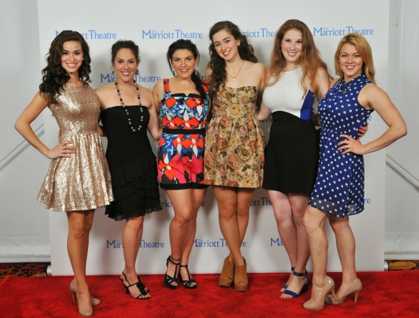 Photo Flash: Cast of Marriott Theatre's GODSPELL Celebrates Opening Night