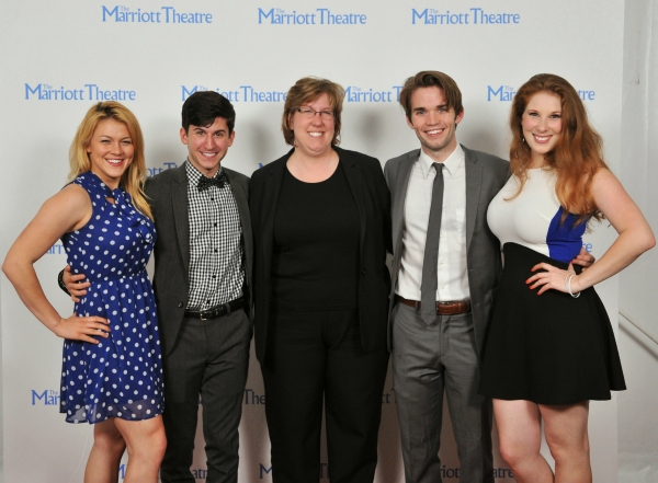 Photo Flash: Cast of Marriott Theatre's GODSPELL Celebrates Opening Night