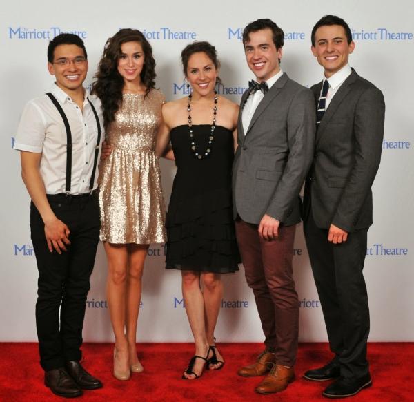 Zachary Piser, Samantha Pauly, Elizabeth Lanza, Nate Lewellyn, Tom Vendafreddo Photo