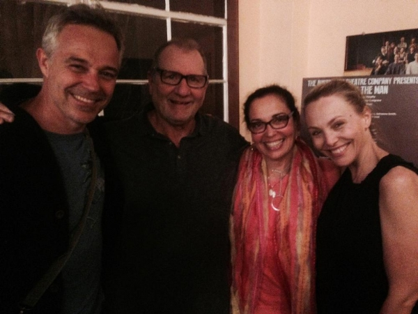 Photo Flash: Ed O'Neill Attends Australian Theatre Company's HOLDING THE MAN