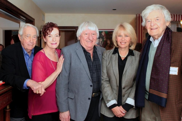 James Karen, Alba Francesca, Ben Lanzarone, Ilene Graff and Hal Holbrook