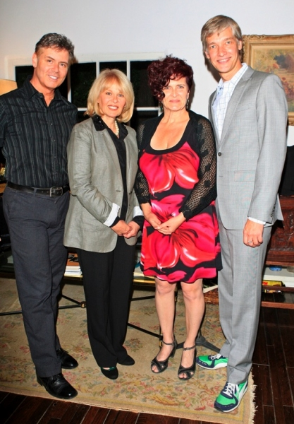 B. Harlan Boll, Ilene Graff, Therese Lee and Christopher Youngsman