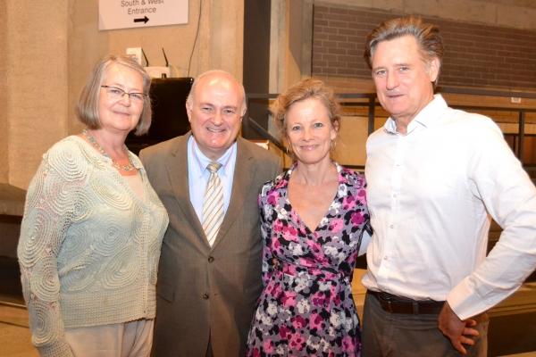 Diane Robinson Knapp, George Washington University President Steven Knapp, Tamara Hurwitz Pullman and Bill Pullman