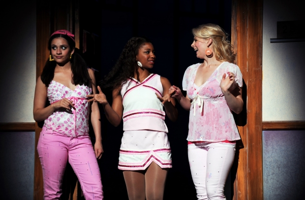 Isabelle McCalla as Pilar, Brinie Wallace as Serena and Lara Hayhurst as Margot