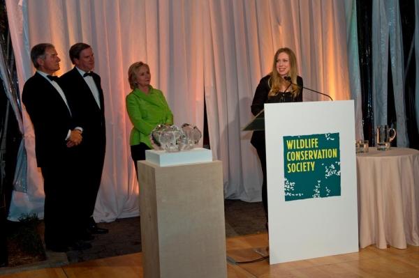Photo Flash: WCS Honors Hillary Clinton at Annual Gala