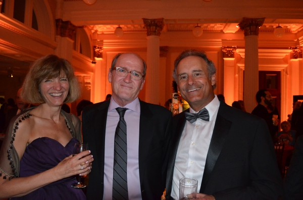 Event co-chairs Barbara and Larry Schoenfeld with Lifetime Achievement honoree Richard Jenkins