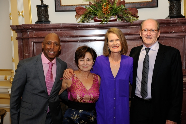 Honorees Jeffrey Osborne, Sharon Jenkins, Mary Paula Hunter and Richard Jenkins