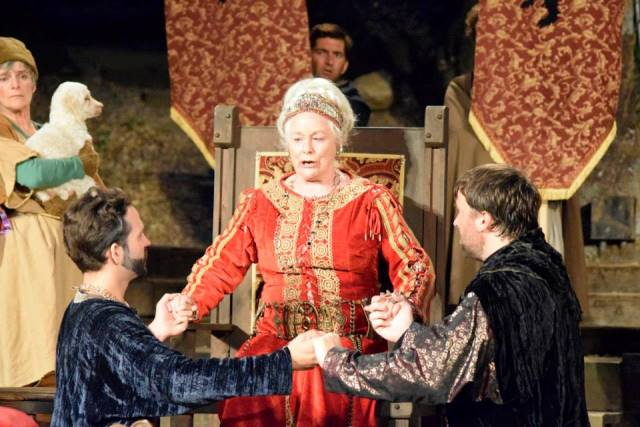 BWW Reviews: A Formidable Ellen Geer Becomes LEAR at Theatricum Botanicum