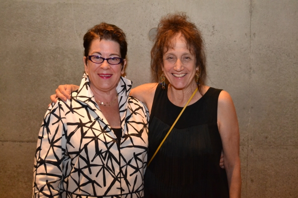 L to R) Artistic Director Molly Smith and director and choreographer Liz Lerman at the opening night celebration for Healing Wars at Arena Stage at the Mead Center for American Theater June 12, 2014.