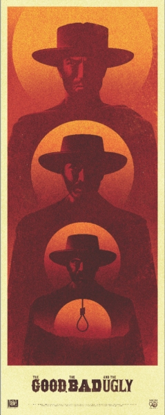 LaBoca Creates Commemorative Poster for THE GOOD, THE BAD AND THE UGLY