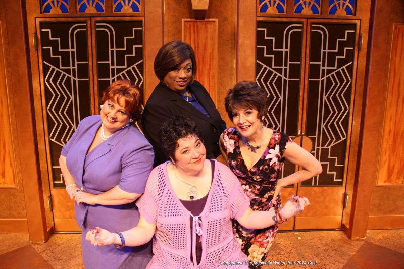 BWW Reviews:  MENOPAUSE THE MUSICAL is a Rip-Roaring Good Time for Men and Women, Young and Old