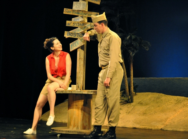 Katie Clark as Nellie an Mark Linehan as Lt. Cable